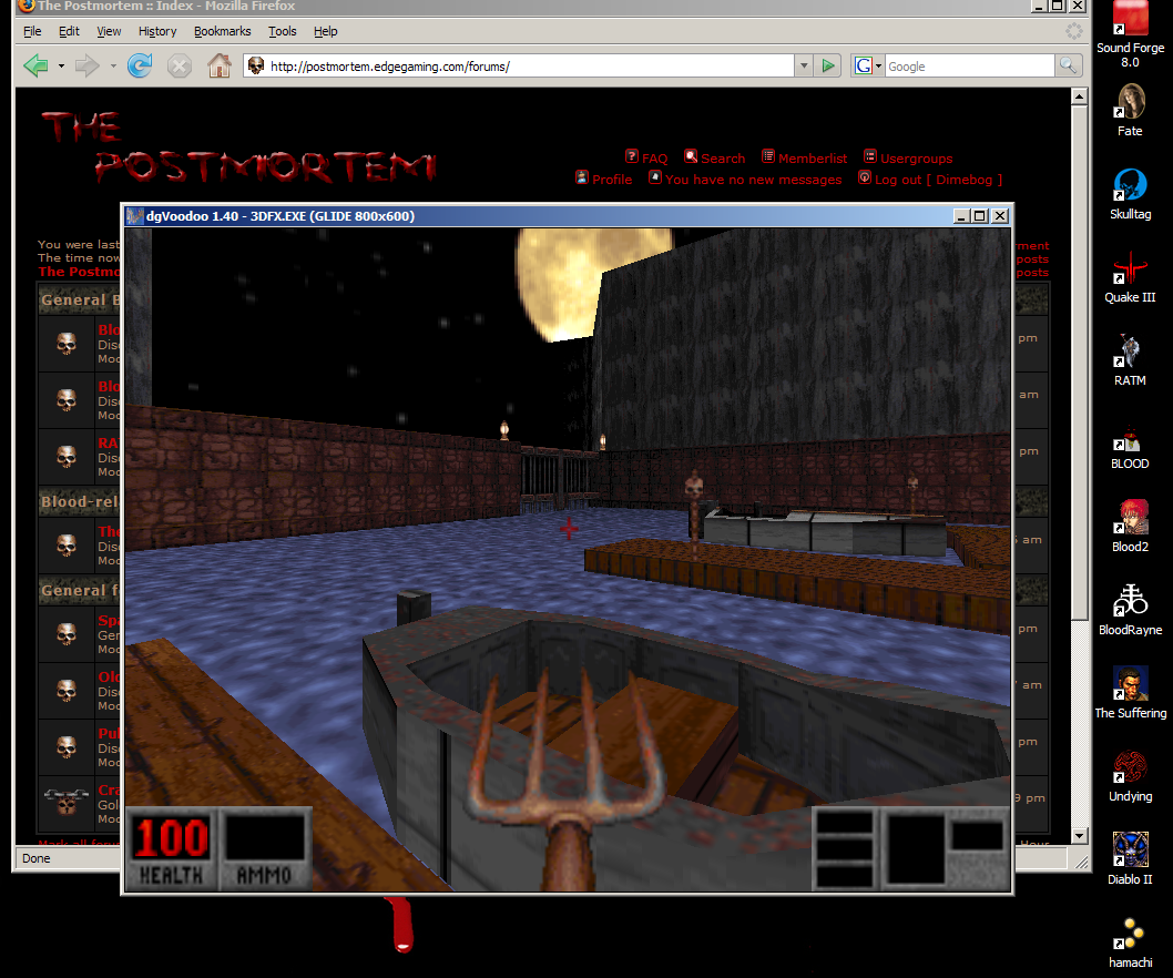 How to: Play BLOOD with 3DFX patch - Transfusion Forums